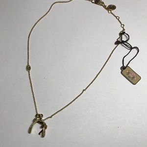 Juicy Couture Wishbone Necklace NWT